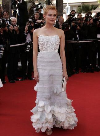 Robe-de-mariee-tapis-rouge-cannes-vogue-KCS-Diane Kruger