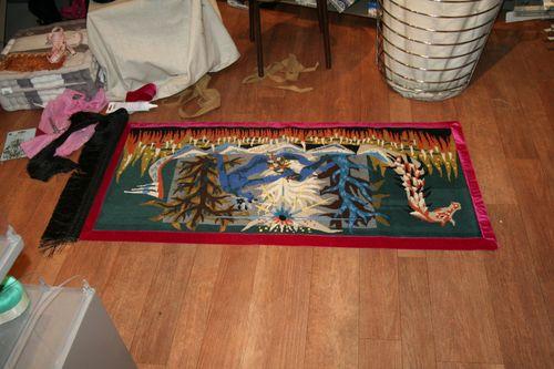 Transformation de tapisserie en tapis